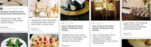 Wedding Themes on Pinterest