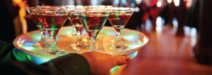 complimentary signature drinks
