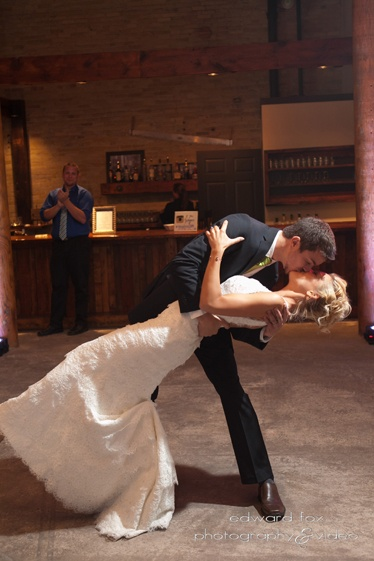 Eric & Ambers first dance.