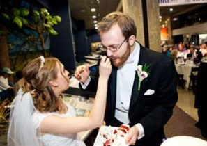 Wedding at the Milwaukee Public Museum