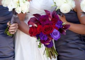 Wedding floral by Adorn