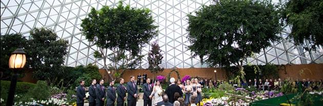 Domes Mitchell Park Wedding