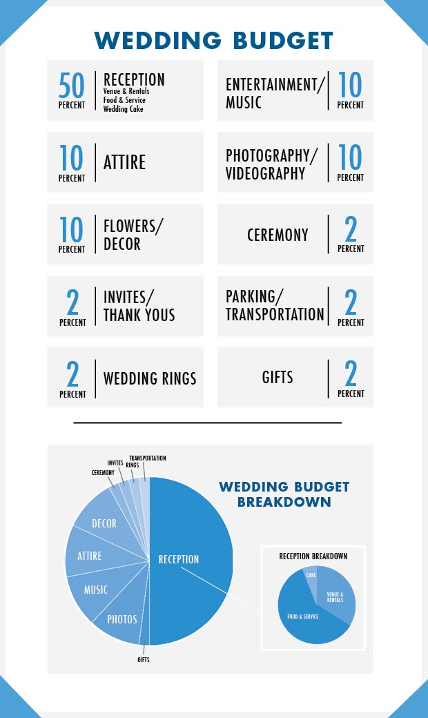 Wedding Spending Graphic
