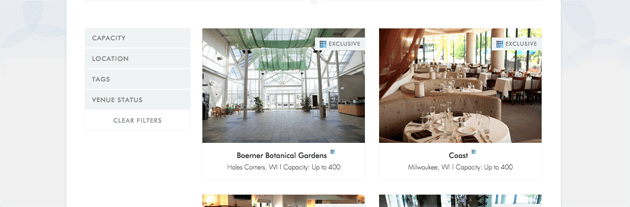Wedding Venue Finder Tool Milwaukee
