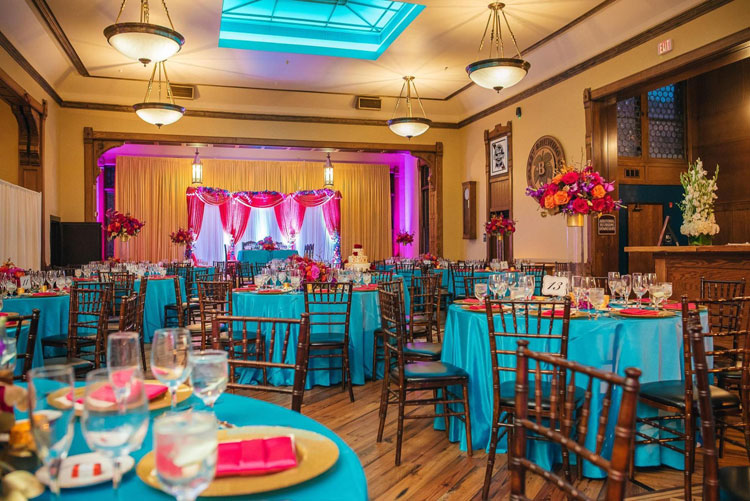 Indian Wedding Reception Hall
