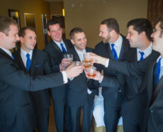 Milwaukee Groomsmen at Zilli Hospitality Group Wedding