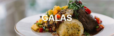 Sample Gala menus