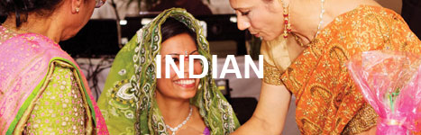 sample indian events menu