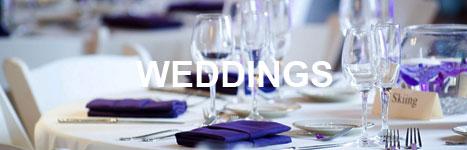 sample weddings menu