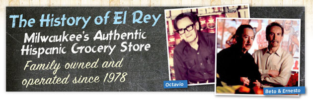 Founders of El Rey Grocery Store