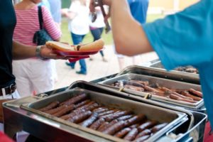 Chorizo at Southerwestern Themed Picnic
