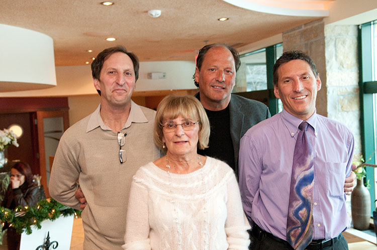 Jim, Stephen, Robert and Ellen Zilli
