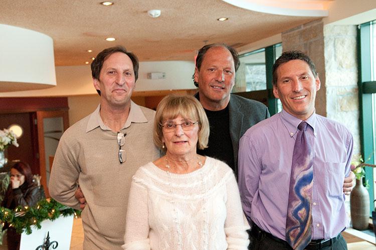 Jim, Stephen, Robert and Ellen Zilli
