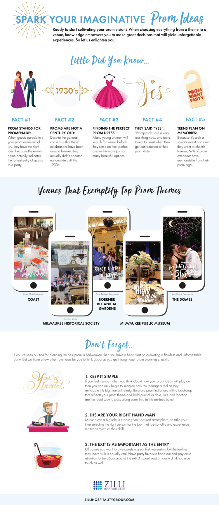 Planning Prom Infographic