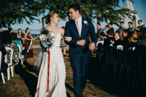 Chapins' Fun and Flavorful Wedding