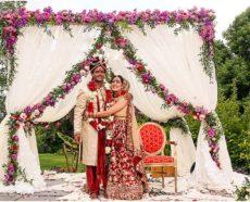 The Mehtas' Indian Wedding at Boerner Botanical Gardens
