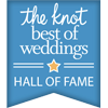 The Knot: Best of Weddings Hall of Fame