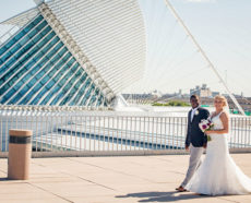 Ashley & LaQuan Wedding at Milwaukee War Memorial