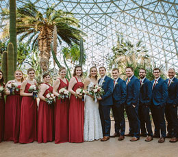 Wedding at The Domes