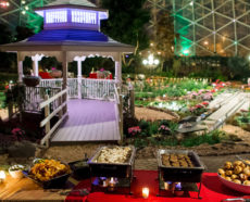 Holiday event by ZHG at The Domes