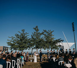 Wedding on the lake at Zilli Lake & Gardens