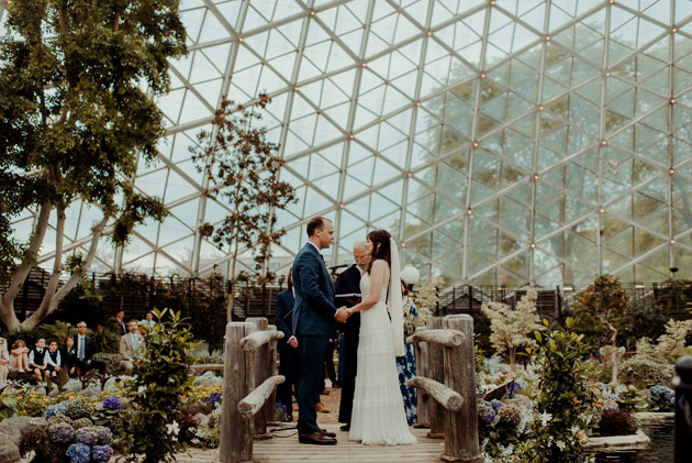 Weddings at the Mitchell Park Domes