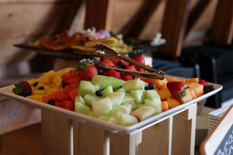 Fruit Tray at All-Day Meeting