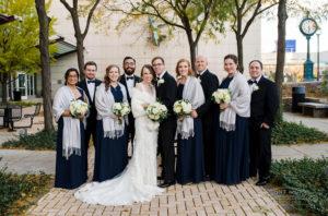 Corrine & John's Adventurous Wedding at Milwaukee Public Museum