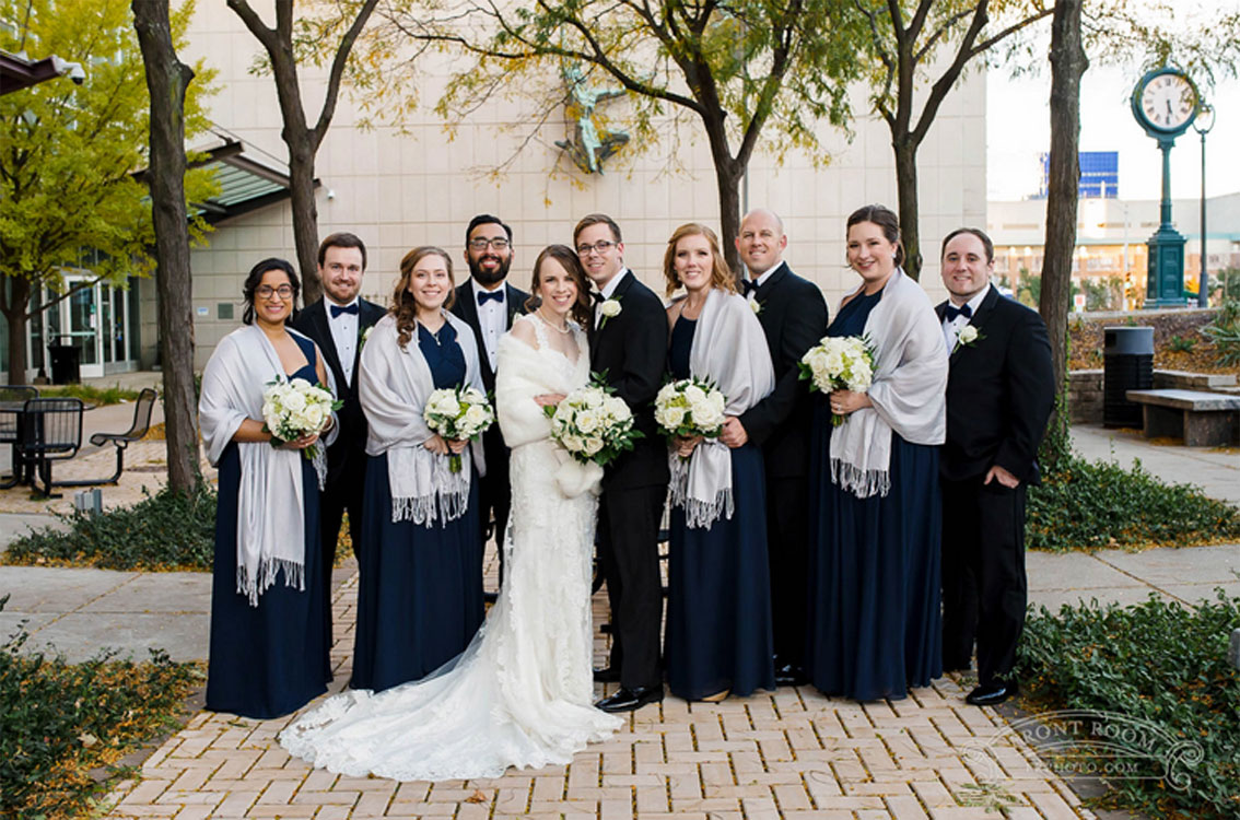 Corrine & John's Adventurous Wedding at Milwaukee Public Museum