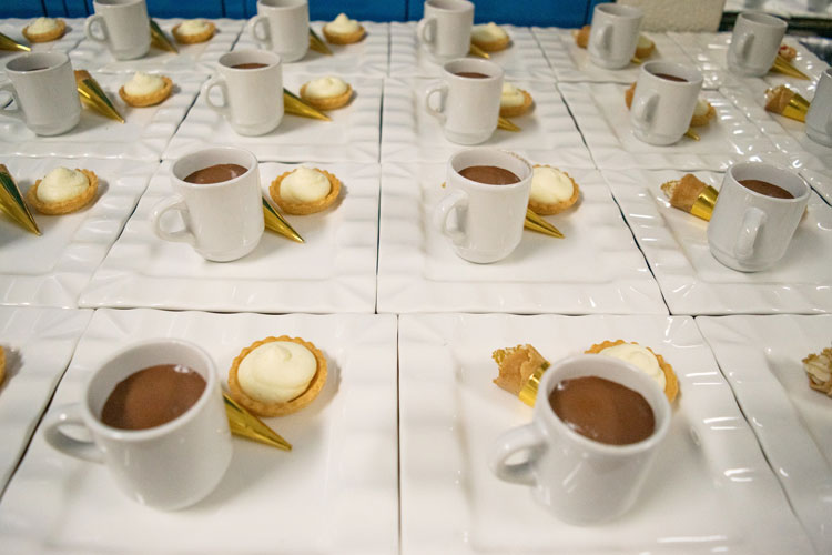 Dessert at Gala Fundraiser