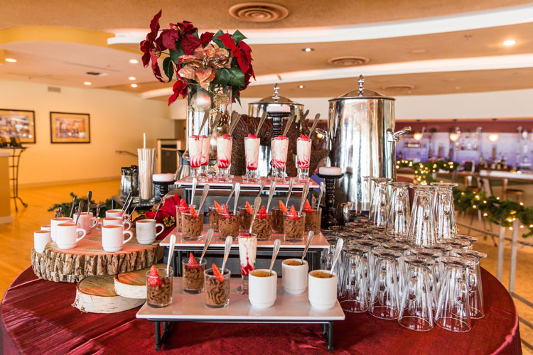 Coast Holiday Venue Event Buffet