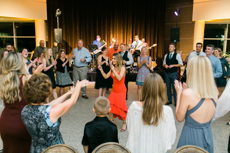 Guests Enjoy Live Music with Wedding Band