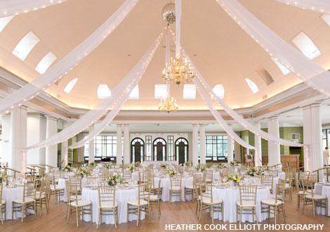 wedding at Lake Geneva Riviera Ballroom