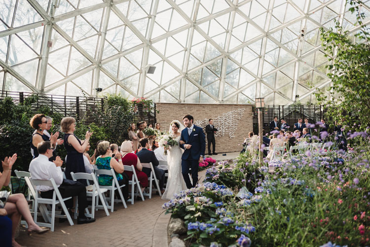 Wedding Ceremony in the Show Dome