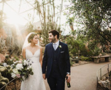 Ana & John's Secret Garden Wedding at The Domes