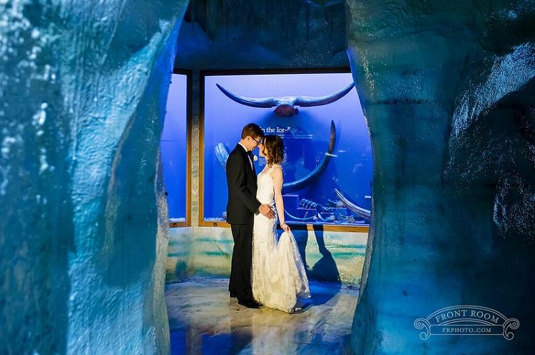Wedding Couple at Milwaukee Public Museum