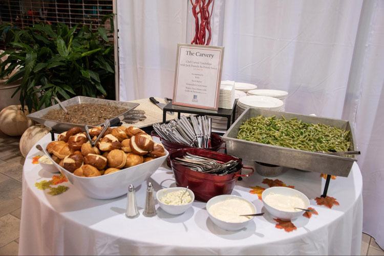Food Stations The Carvery at Weddings