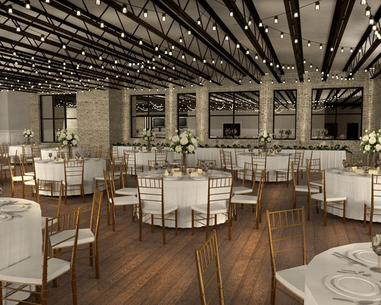 The Loft at 132 Wedding Venue