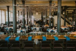 Historic Pritzlaff Building Wedding reception