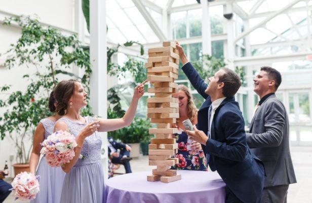 Lauren & Sam Get Married At Boerner Botanical Gardens