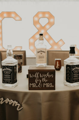 Cheyenne + Jeremy Lake and Gardens Wedding