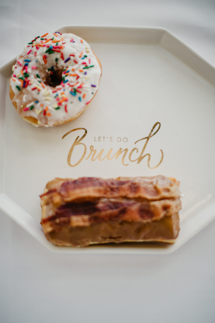 Liz & Andrew Brunch Wedding Donuts