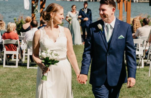 Liz & Andrew Brunch Wedding at Oconomowoc Community Center