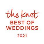 The Knot Best of Weddings 2021 logo
